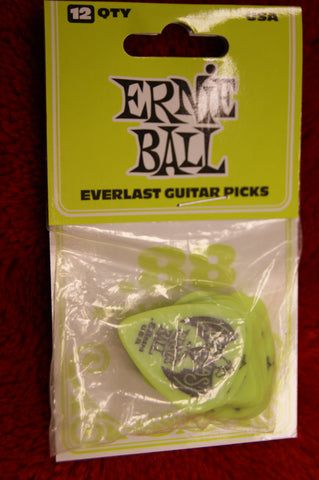Ernie Ball Everlast .88mm delrin guitar picks - pack of 12