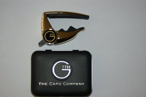 G7th performance capo - Ltd edition gold with G7th capo tin