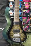 Vox Starstream synth electric guitar in green quilted maple finish - Made in Japan