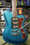 Italia Modena Challenge electric guitar in metallic turquoise - Made in Korea