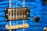 Indie Shape Tribal Extreme electric guitar in blue