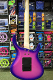 Revelation RHS electric guitar in martian Sunset finish Left Hand