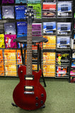 Aria Pro II AR2825 electric guitar in trans cherry finish S/H