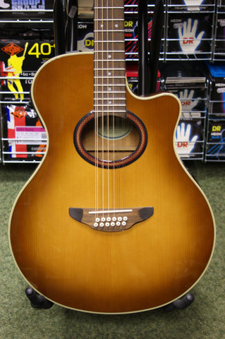 Yamaha APX5-12A electro acoustic 12 string guitar S/H