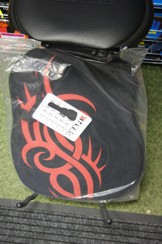 Graffix padded electric guitar bag 'red tattoo' design