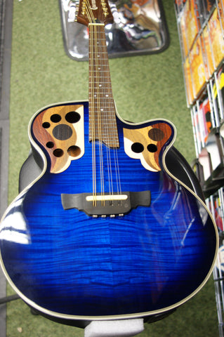 Crafter M85E electro mandolin in marineburst finish