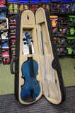 Antoni debut violin outfit full size in metallic blue