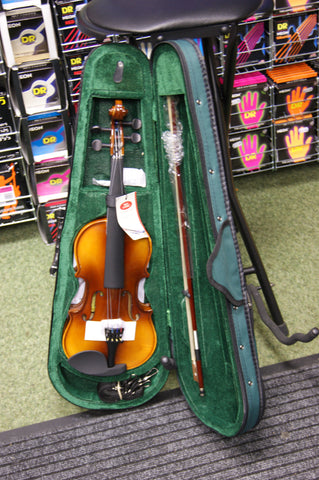 Antoni ACV32 violin outit 1/2 size with bow rosin & case