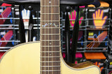 Crafter GLXE3000/OV Grand Auditorium electro-acoustic guitar & Crafter Deluxe Hard Case