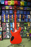 Schecter C-1 Stealth Diamond Series electric guitar red satin - made in Korea S/H