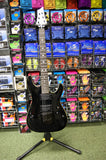 Schecter Diamond Series C-1 electric guitar in black S/H