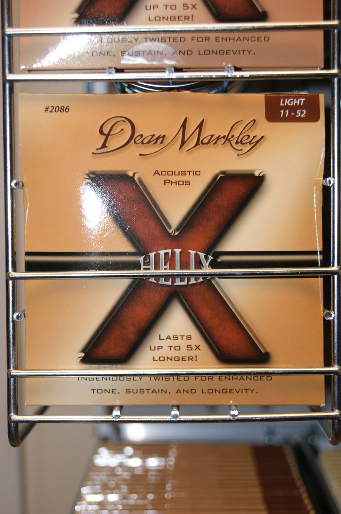 Dean Markley Helix 2086 acoustic 11-52 light bronze strings (2 PACKS)
