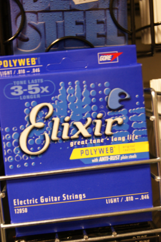 Elixir 12050 Polyweb light electric guitar strings 10-46 (3 PACKS)