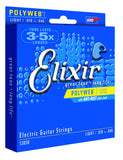 Elixir 12050 Polyweb light electric guitar strings 10-46 (2 PACKS)