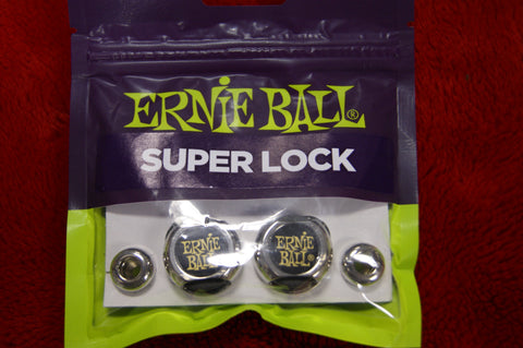 Ernie Ball Super Lock guitar strap lock system