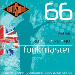 Rotosound FM66 Funkmaster bass guitar strings