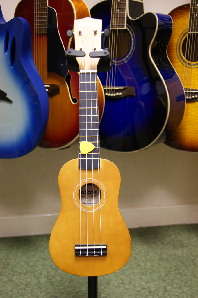 Ukulele soprano natural finish by Falcon FL10UK
