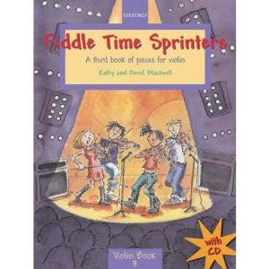 Fiddle Time Sprinters book & CD