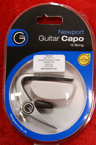 G7th Newport capo for 12 string guitar