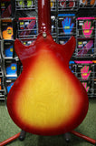 Gordon Smith Gypsy 2 semi acoustic guitar in cherry sunburst S/H
