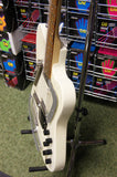 Italia Modena Sitar in white crackle finish - Made in Korea