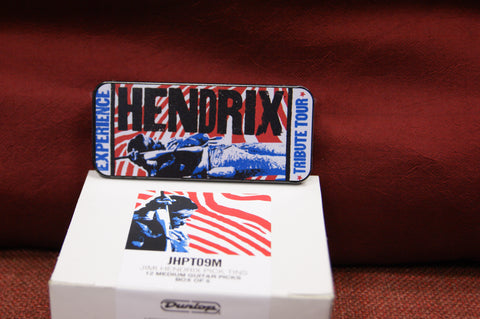 Dunlop Hendrix Pick tin - 2010 Tribute Tour JHPT09M
