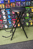 Guitar stand and performer stool by Kinsman