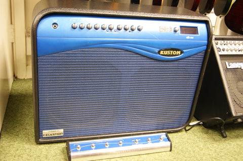 Kustom WAV212 stereo electric guitar amp combo with DFX & remote footswitch