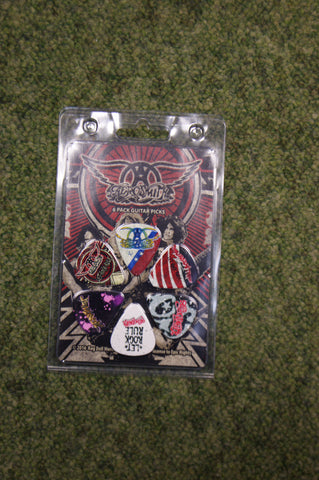 Aerosmith LP-AER2 guitar pick gift pack by Perris