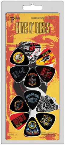 Guns 'n' Roses LP12-GR1 guitar picks 12 pack by Perris