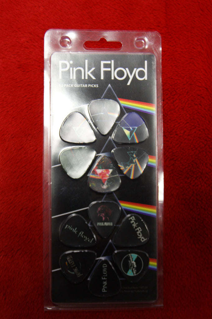 Pink Floyd 12 pick pack by Perris
