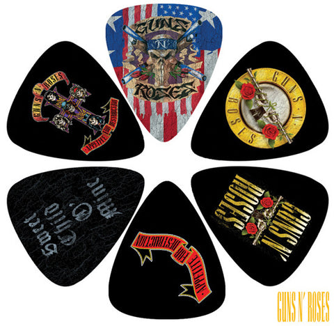 Guns 'n' Roses LP-GR2 guitar picks by Perris