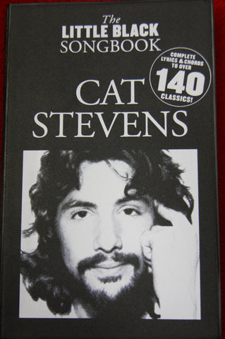 Little Black Songbook Cat Stevens - guitar and vocals