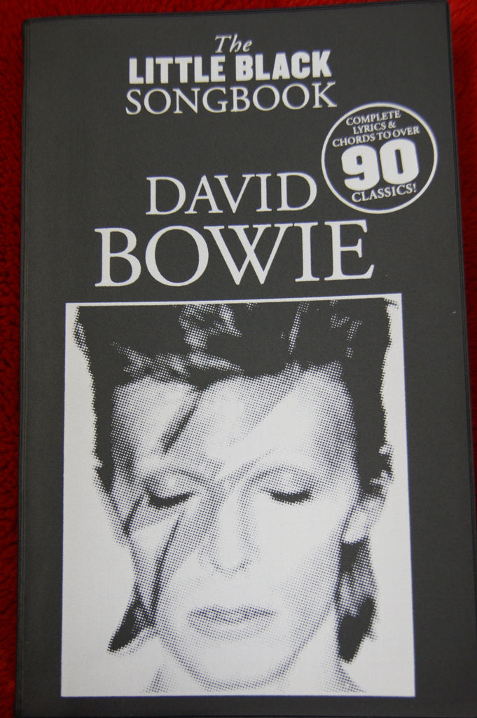 Little Black Songbook David Bowie - guitar and vocals
