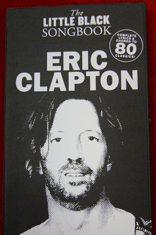 Little Black Songbook Eric Clapton - guitar and vocals