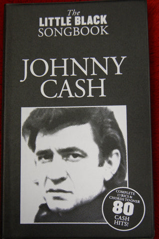 Little Black Songbook Johnny Cash - guitar and vocals