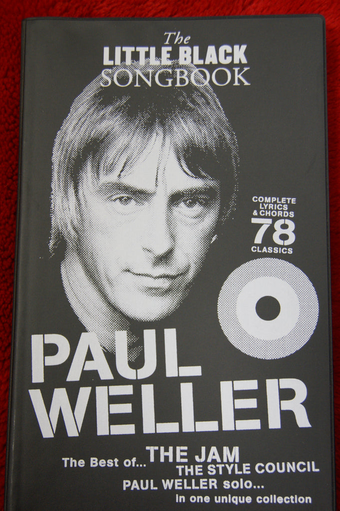 Little Black Songbook Paul Weller - guitar and vocals