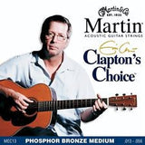 Martin MEC13 Claptons Choice acoustic guitar strings 13-56