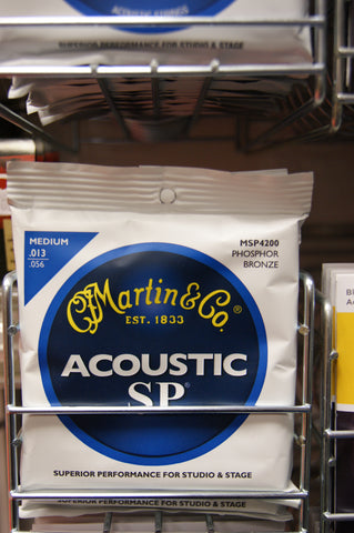 Martin MSP4200 Acoustic SP medium acoustic guitar strings 13-56