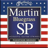 Martin MSP4250 Bluegrass gauge acoustic guitar strings 13-56