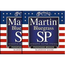 Martin MSP4250 Bluegrass acoustic guitar strings 13-56 (2 PACKS)