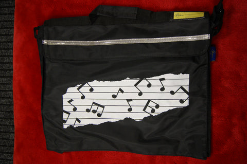 Music bag by Macpac in black