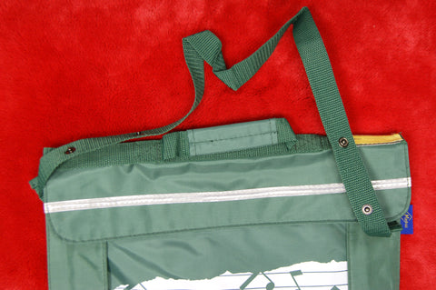 Music bag by Macpac in green