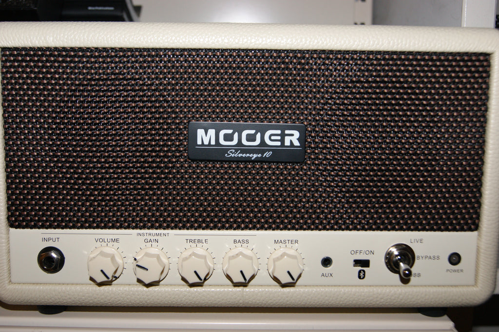 Mooer Silvereye 10 desktop instrument and bluetooth hifi amplifier