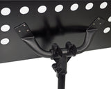 Conductors music stand in black