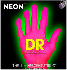 DR Neon NPE-9 Pink coated electric guitar strings 9-42