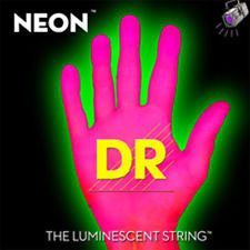 DR Neon NPE-10 pink electric guitar strings 10-46
