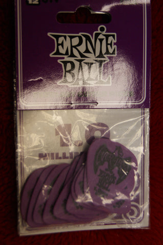 Ernie Ball Everlast 1mm delrin guitar picks - pack of 12