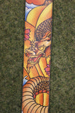 Guitar strap P25TJ-648 printed leather by Perri's - Made in Canada