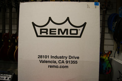 "Remo Pinstripe 24"" clear bass drum skin"
